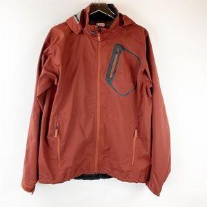 AK Burton Snowboard Rust Red Hoodie Jacket